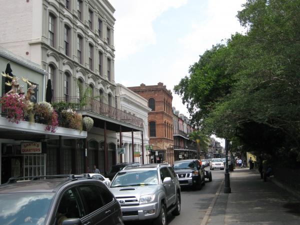 ニューオリンズの町並み